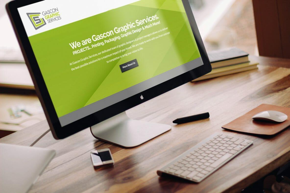 DesignerKen Graphics - Web Development - Gascon Graphics