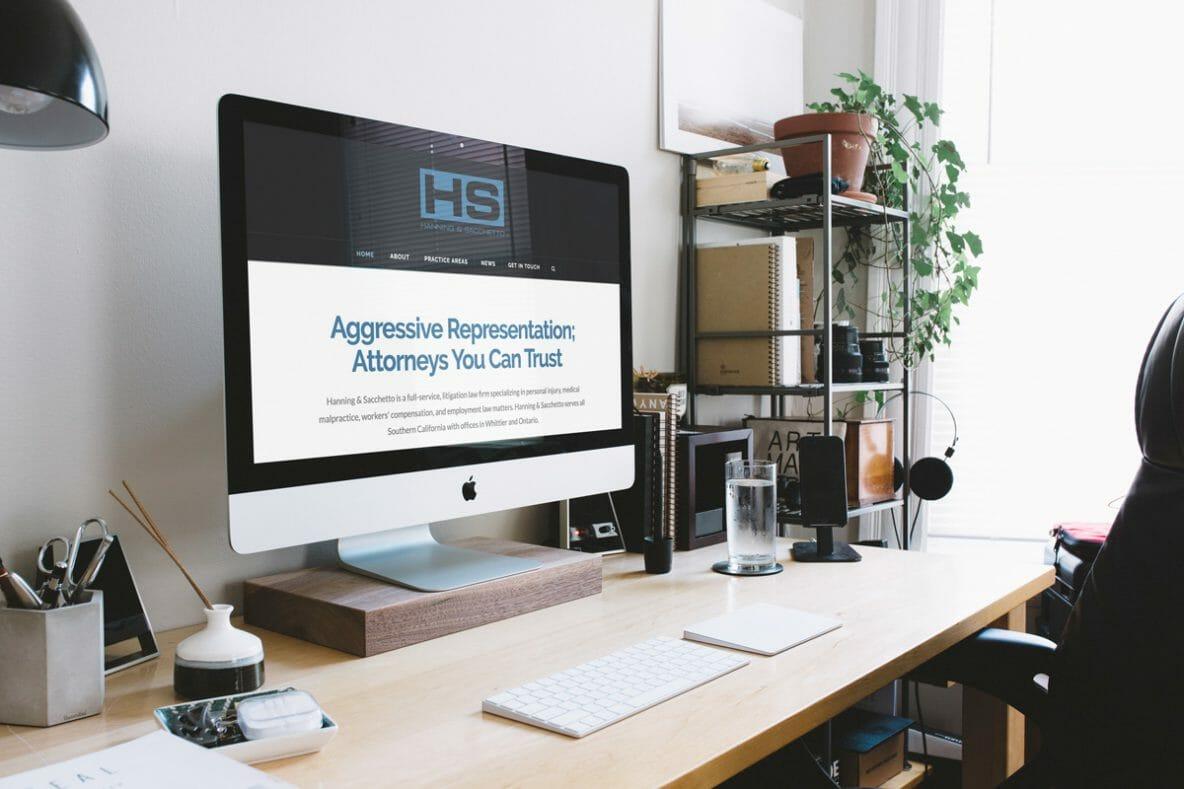 DesignerKen Graphics - Website Development - Hanning & Sacchetto